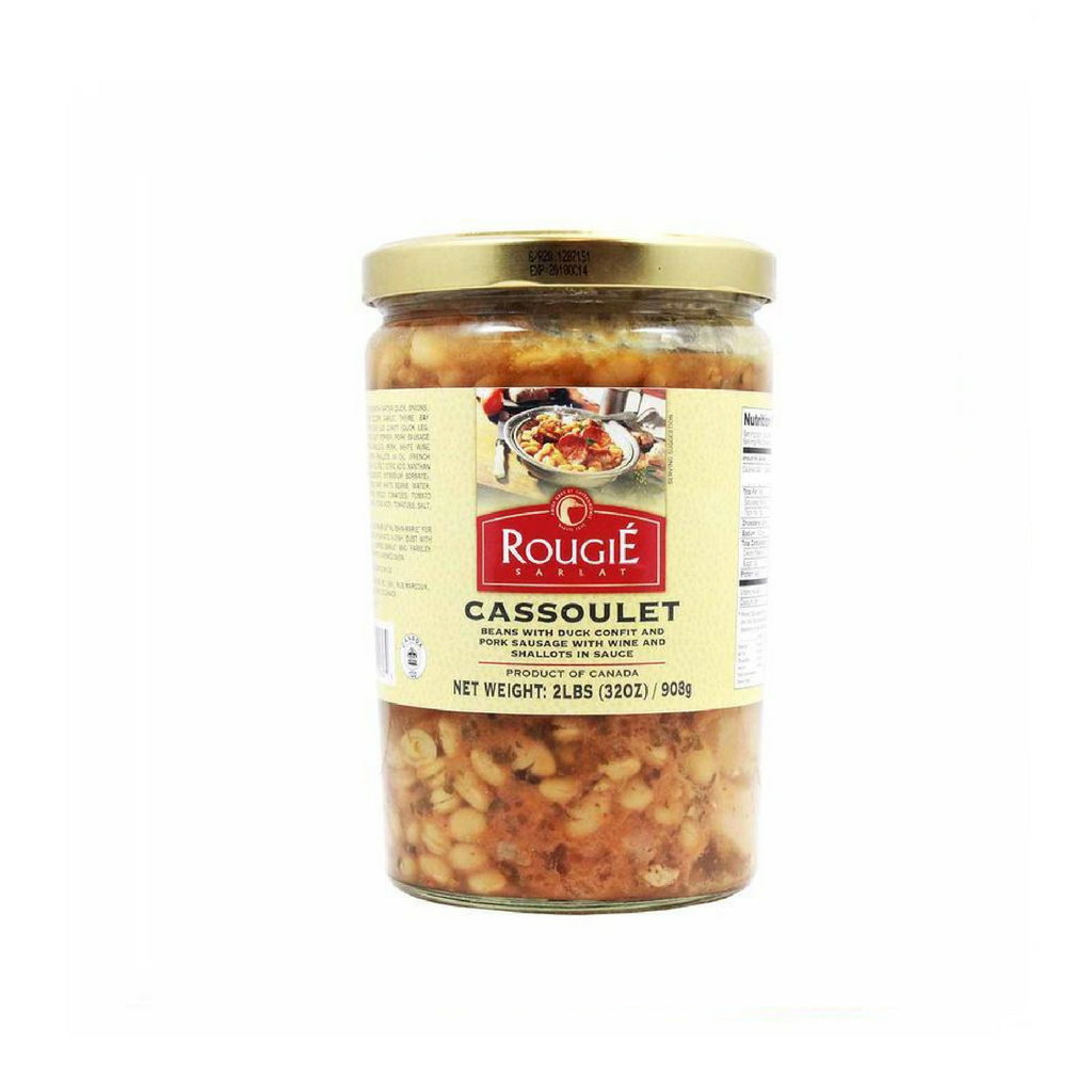 French Style Cassoulet with Duck Confit by Rougie 30 oz-Rougie-Le Tablier Bleu | Online French Supermaket