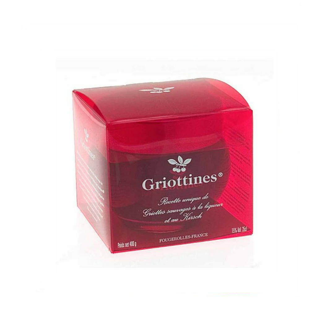 Griottines Morello Cherries in Kirsch in Gift Box 11.8 fl. oz. (35cl)-Griottines-Le Tablier Bleu | Online French Supermaket