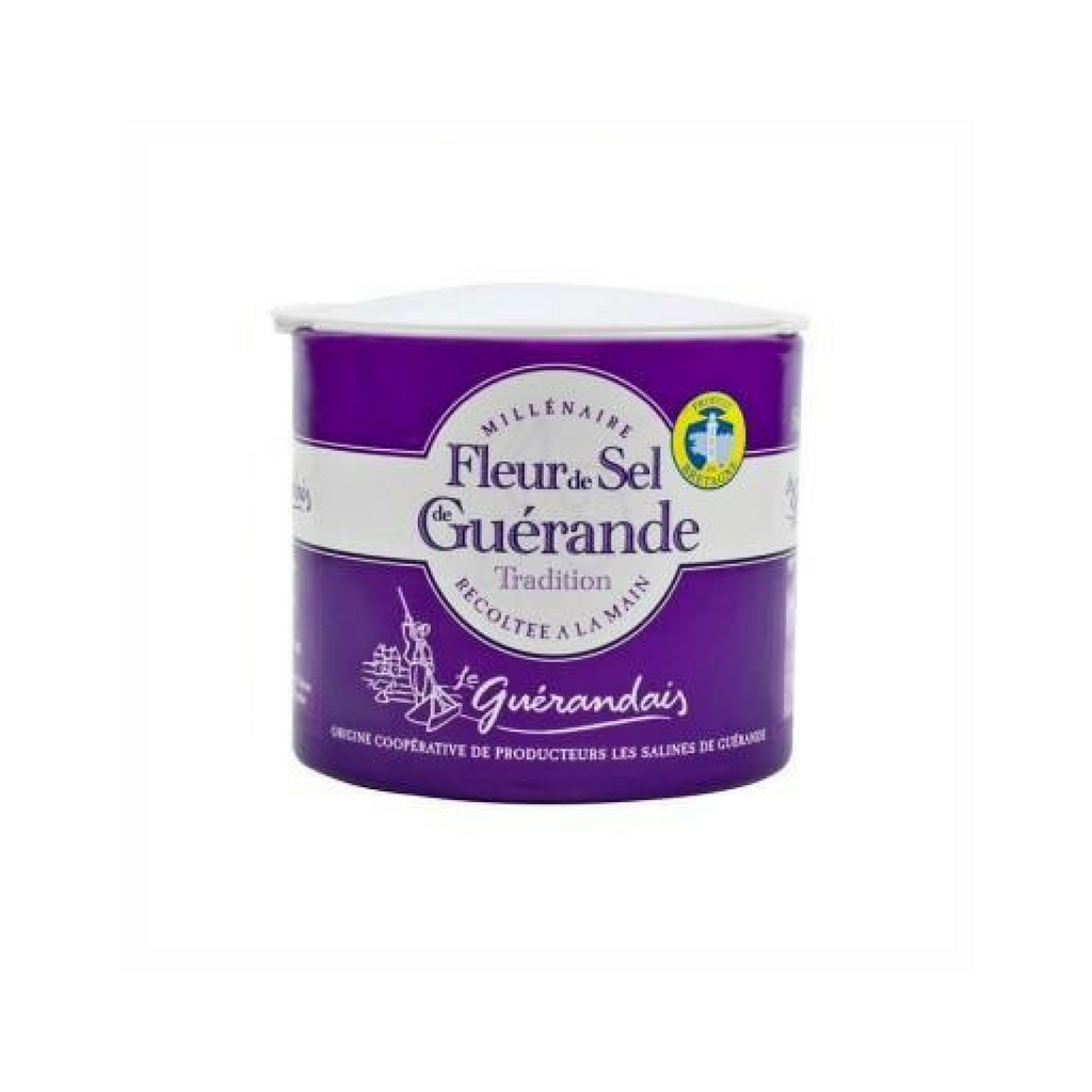 Le Guérandais French Salt Fleur de sel de Guérande, box · 125g (4.4 oz)-COOKING & BAKING-Le Guerandais-Le Tablier Bleu | Online French Supermaket