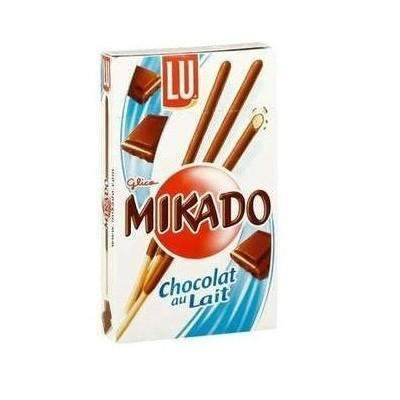 Lu · Mikado, milk chocolate, pocket size · 30g (1.1 oz)-DESSERTS & SWEETS-Lu-Le Tablier Bleu | Online French Supermaket