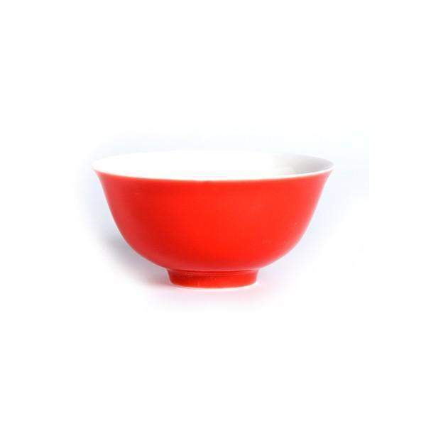 Ming Chinese Porcelain Bowl (Red) - Le Palais Des Thes-PALAIS DES THES-Palais des Thes-Le Tablier Bleu | Online French Supermaket