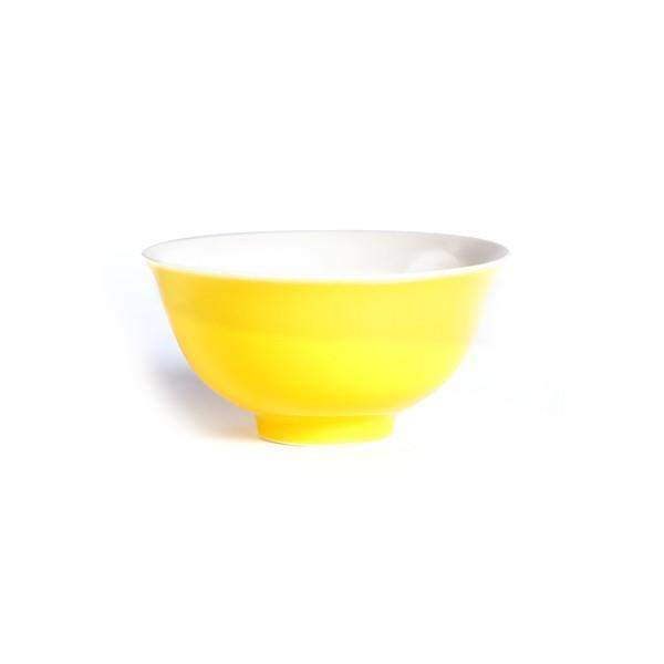 Ming Chinese Porcelain Bowl (Yellow) - Le Palais Des Thes-PALAIS DES THES-Palais des Thes-Le Tablier Bleu | Online French Supermaket