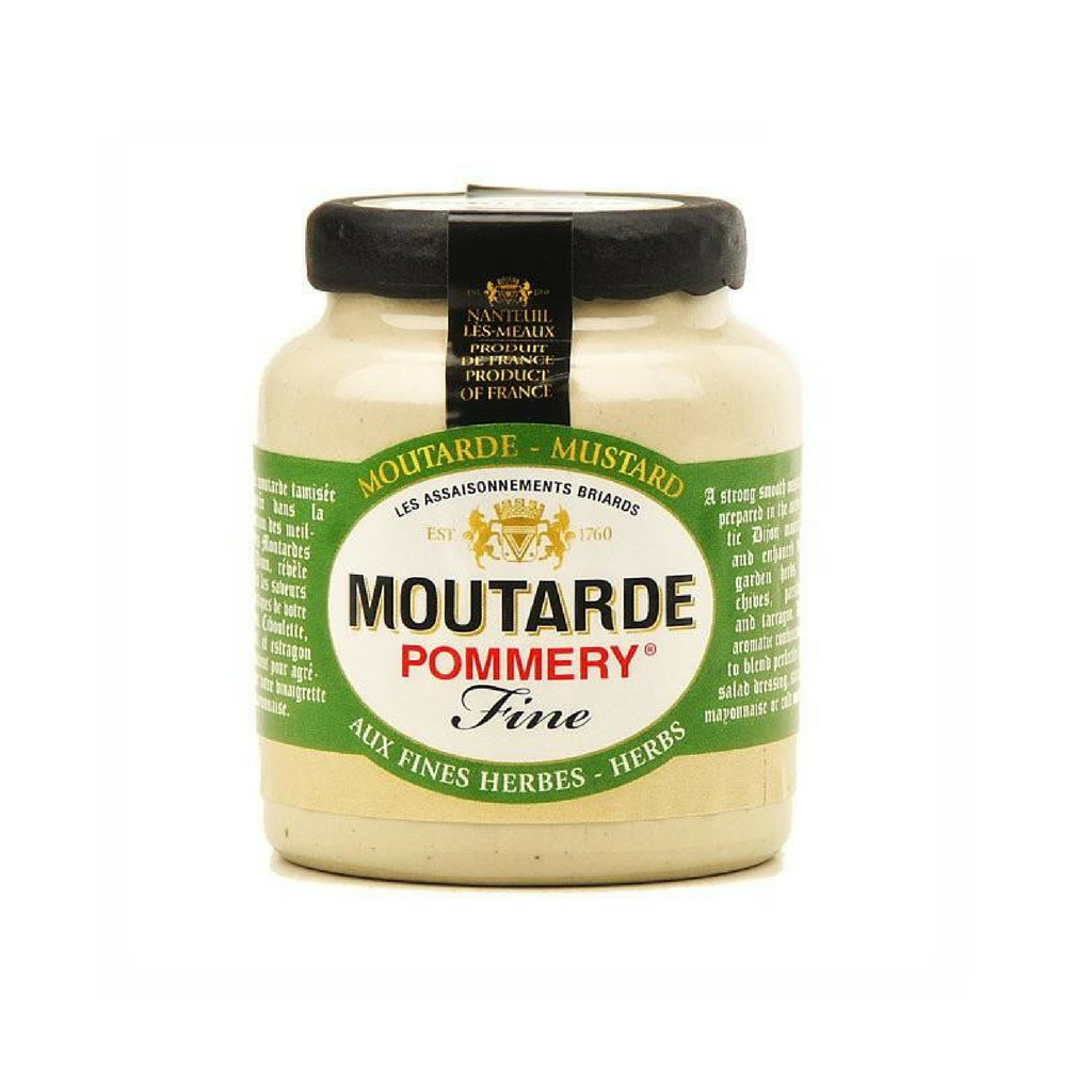 Moutarde aux Fines Herbes-FRENCH ÉPICERIE-Pommery-Le Tablier Bleu | Online French Supermaket
