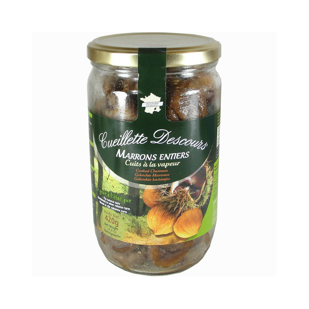 2 Pack Concept Fruits Whole Roasted Chestnuts Large Bottle 14.8 oz. Best Price-Concept Fruits-French-Grocery-store