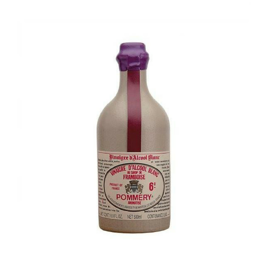 Pommery · Raspberry vinegar in crock · 50cl (16.9 fl oz)-FRENCH ÉPICERIE-Pommery-Le Tablier Bleu | Online French Supermaket
