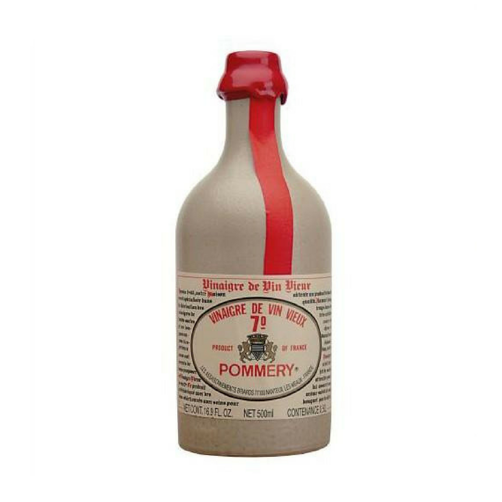 Pommery Red wine vinegar in crock 50cl (16.9 fl oz)-FRENCH ÉPICERIE-Pommery-Le Tablier Bleu | Online French Supermaket