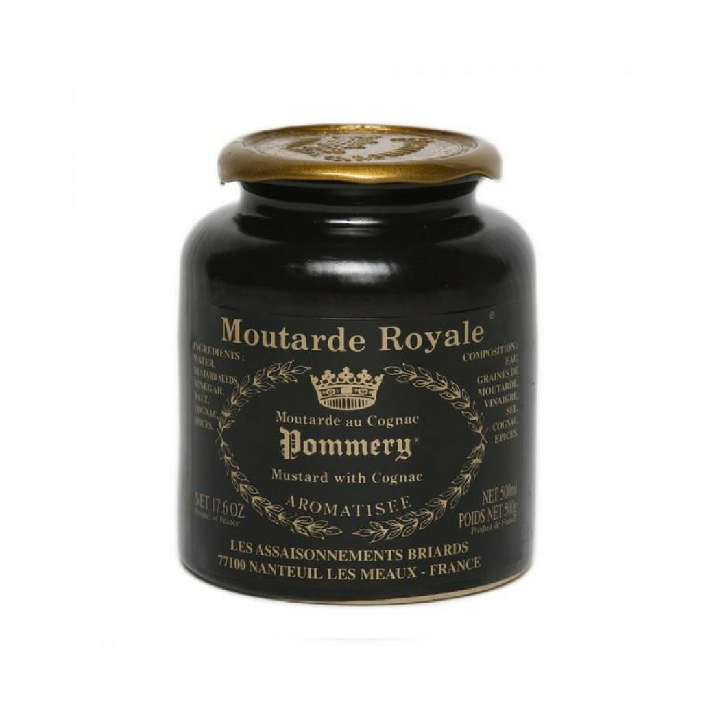Pommery · Royal mustard with cognac · 250g (8.8 oz)-FRENCH ÉPICERIE-Pommery-Le Tablier Bleu | Online French Supermaket
