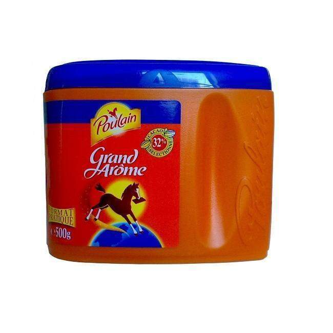 Poulain · Grand Arôme, chocolate breakfast mix · 500g (17.6 oz)-BEVERAGES-Poulain-Le Tablier Bleu | Online French Supermaket