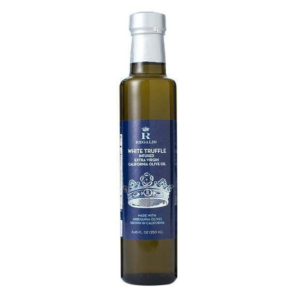Regalis Fresh White Truffle infused Extra Virgin Olive Oil-FOIE GRAS & TRUFFLES-Regalis Food-Le Tablier Bleu | Online French Supermaket