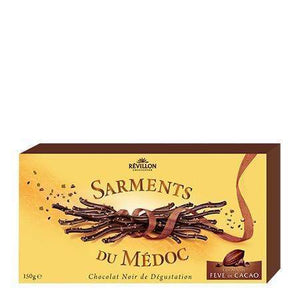 Révillon · Sarments chocolate twigs dark cocoa · 125g-DESSERTS & SWEETS-Revillon-Le Tablier Bleu | Online French Supermaket