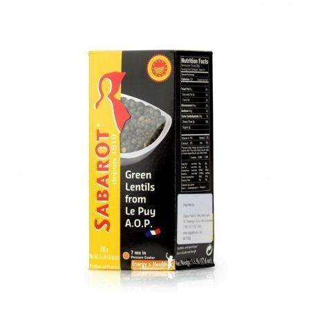 Sabarot · Green lentils · 500g (17.6 oz)-COOKING & BAKING-Sabarot-Le Tablier Bleu | Online French Supermaket