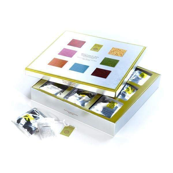 Selection Box of Classic Teas - Palais Des Thes-PALAIS DES THES-Palais des Thes-Le Tablier Bleu | Online French Supermaket