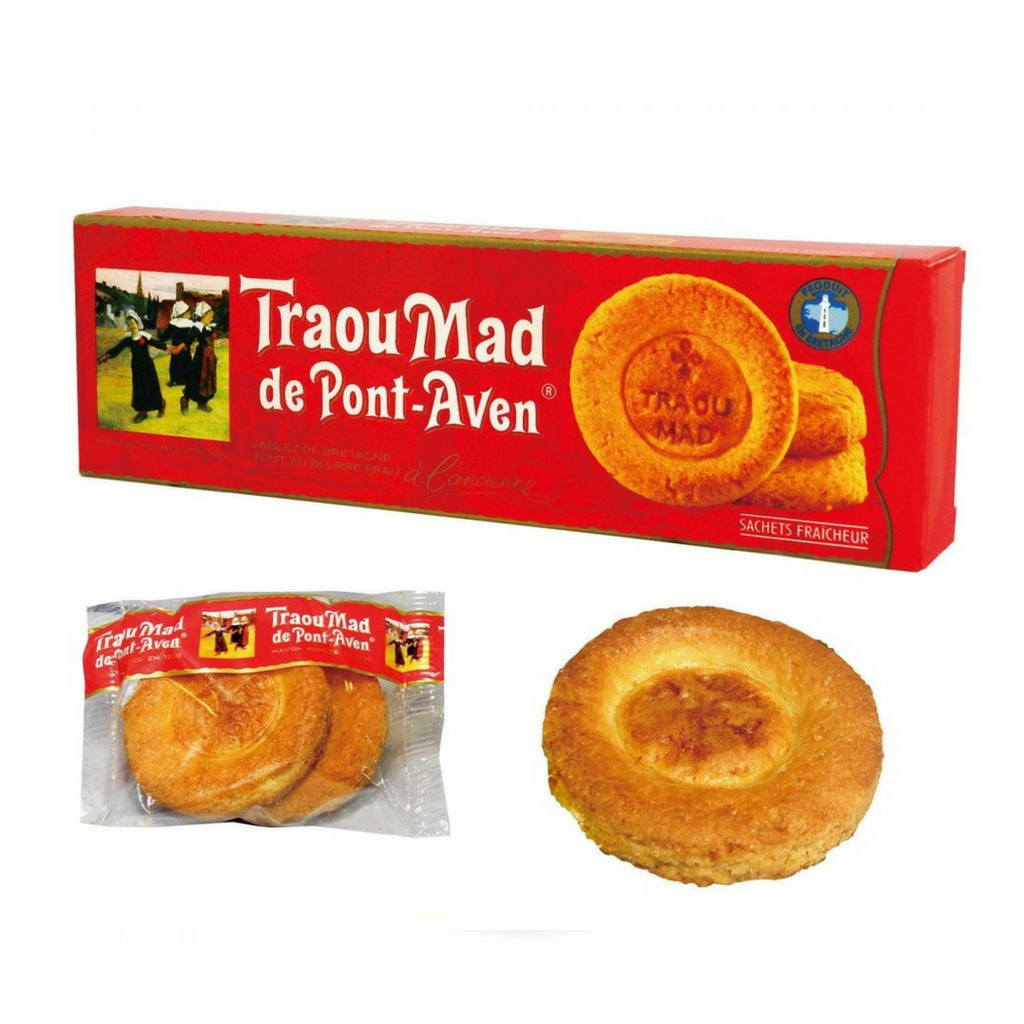 Traou Mad Thick Butter Cookies 100g-DESSERTS & SWEETS-Traou Mad-Le Tablier Bleu | Online French Supermaket