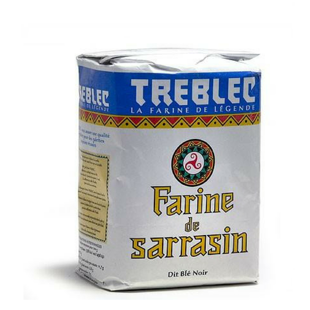 Treblec · Buckwheat flour · 1kg (2.2 Lb)-COOKING & BAKING-Treblec-Le Tablier Bleu | Online French Supermaket