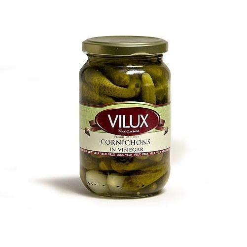 Vilux · Cornichons · 190g (6.7 oz)-FRENCH ÉPICERIE-Vliux-Le Tablier Bleu | Online French Supermaket