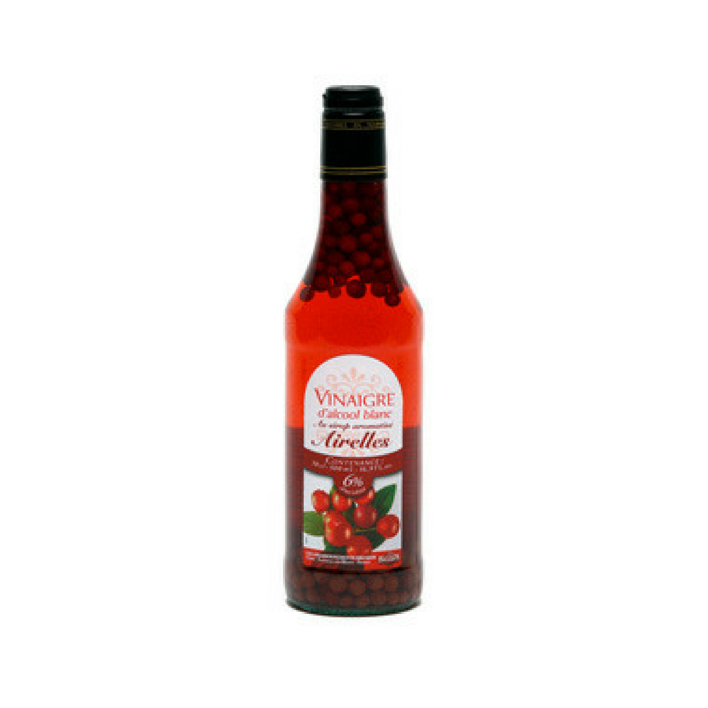 White alcohol vinegar 6° flav. with raspberry syrup and fruits 50cl-Pommery-Le Tablier Bleu | Online French Supermaket