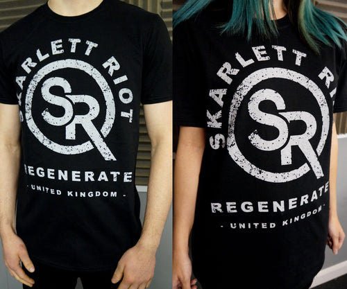 Skarlett Riot Short Sleeve Regenerate T-Shirt - Black