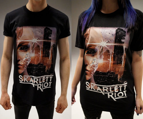 Skarlett Riot Short Sleeve Sentience Artwork T-Shirt