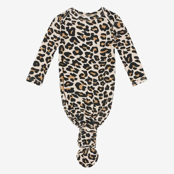 Lana Leopard Knotted Gown