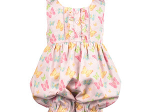Butterfly Back Romper