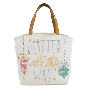 Glitter All The Way Tote