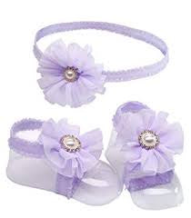 Petals Headband And Sandal Set