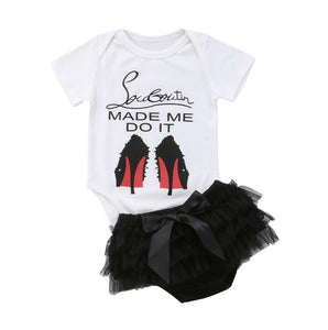 Red Bottom Onesie & Tutu