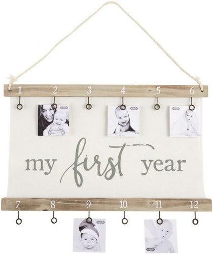 First Year Canvas Clip Frame