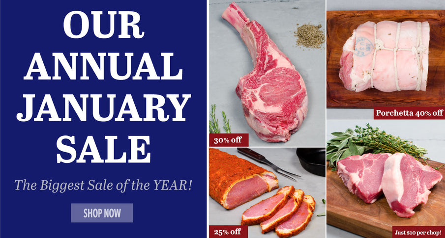 Our Annual January Sale