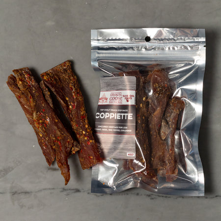 Introducing Coppiette: Top Shelf Truck Stop Snacks