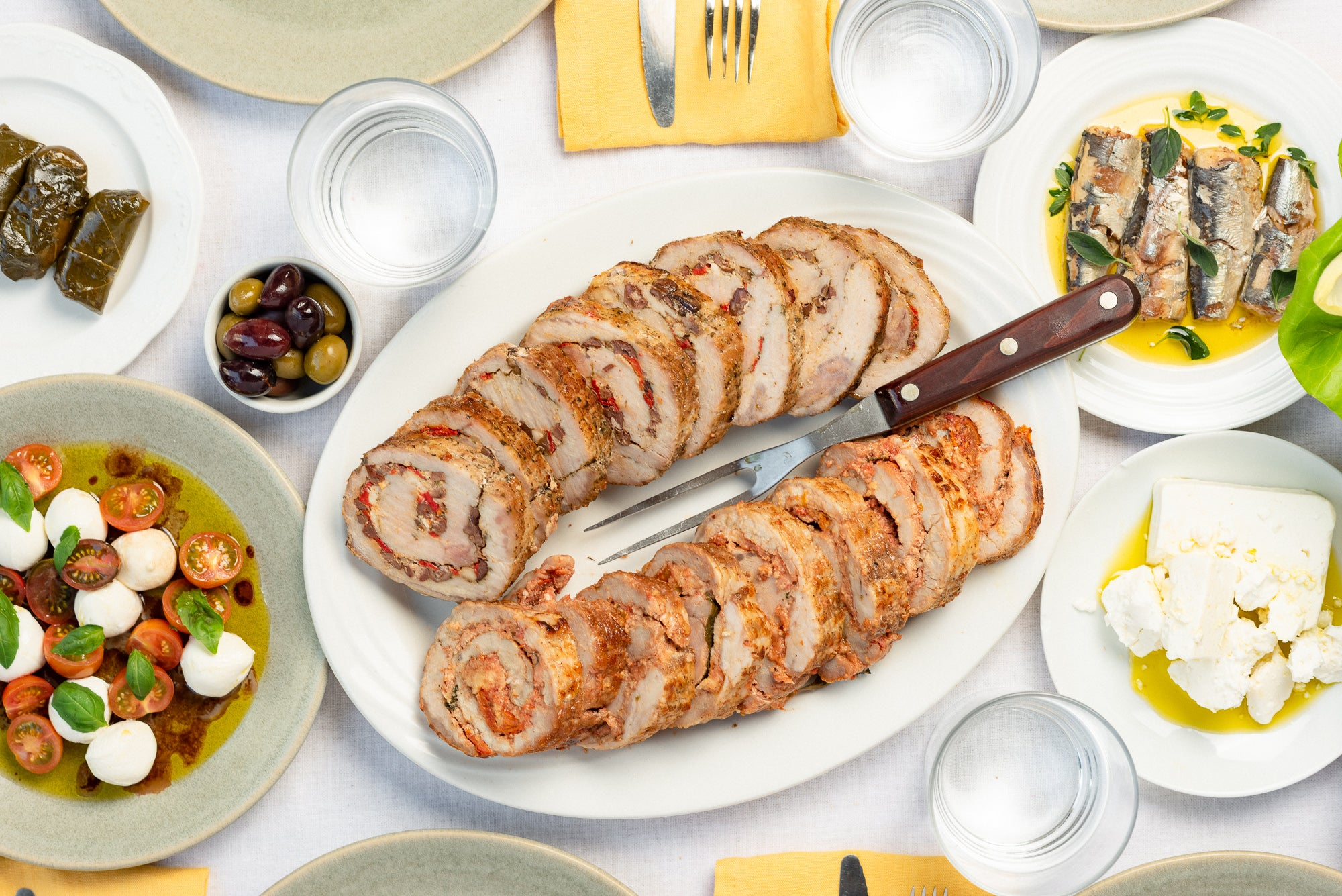 New Heritage Collection: Pork Rollatini