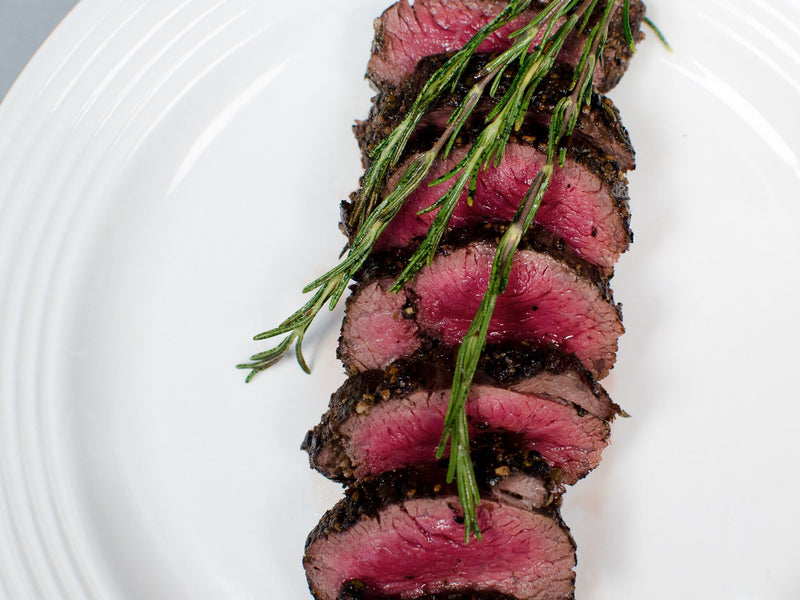 Featuring Our Newest Product! Poivre Mélange Wagyu Petite Tender - Music to Our Mouths!
