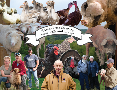 Heritage Breeds Week Collage