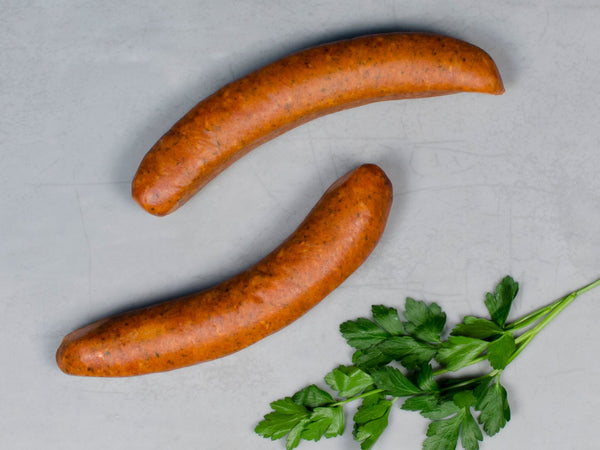 ANDOUILLE SAUSAGE, Three 12 oz packs, 6 links total — Berkshire