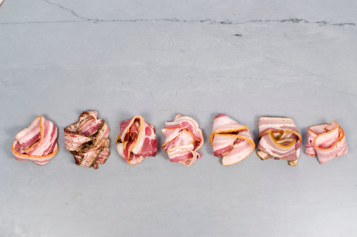BACON SUBSCRIPTION, Three packs of sliced bacon — Receive a new style of bacon each month!