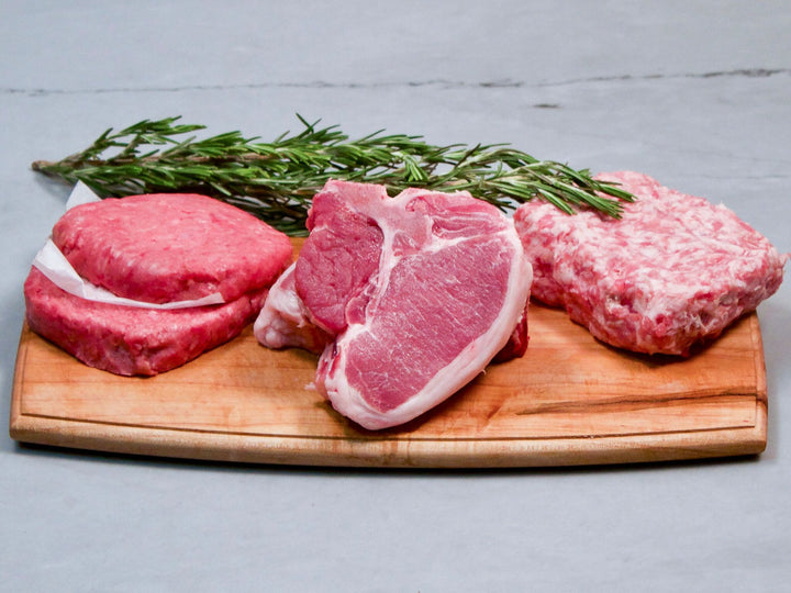 Heritage breed essentials. Pastured raised meats for easy weeknight meals.