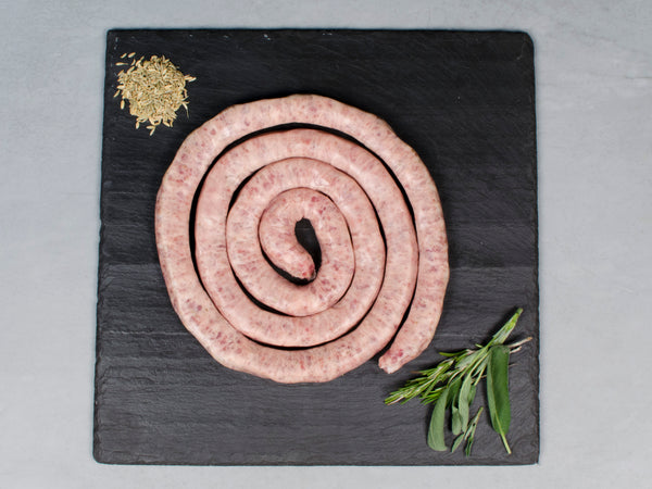 SWEET ITALIAN HERITAGE SAUSAGE, Three 1lb wheels — from Little Italy's own Pepe Giocoli