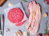 heritage bacon and wagyu burgers | delivered to your door! | antibiotic free | Heritage Foods