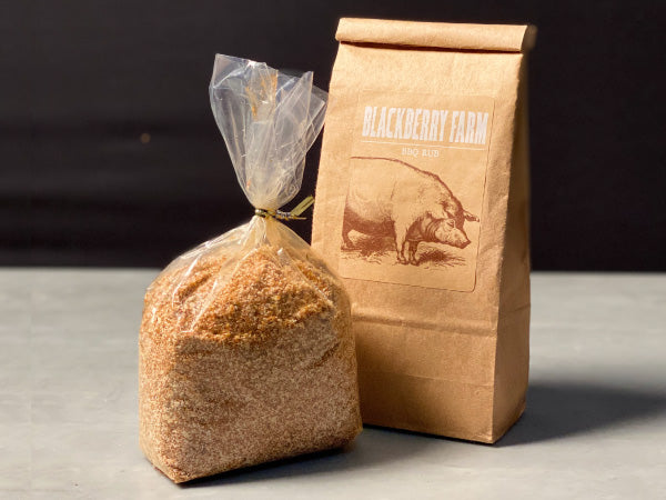 DRY RUB — sweet and smoky blend of spices perfect for rubbing on our ribs, chops, boston butts, and poultry — by Blackberry Farm in the Smoky Mountains of East Tennessee — One 1lb bag