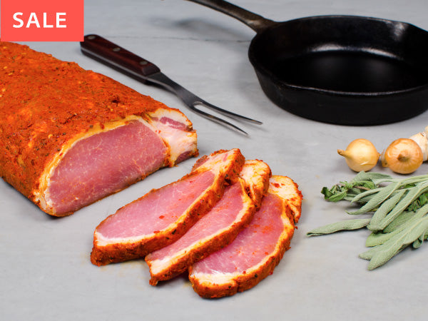 SPICY PORK ROAST, with Calabrian peppers — by Tempesta Artisans — BUY ONE GET ONE FREE!