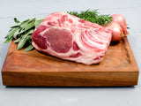 COUNTRY RIBS, Two 2-3lb bone-in roasts, perfect to cut into chops and grill or braise — Berkshire or Red Wattle