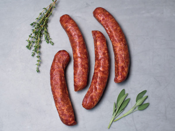 NEW! EDWARDS HICKORY SMOKED HERITAGE SAUSAGE, An Authentic Taste of Virginia Since 1926 — Three 12 oz packs