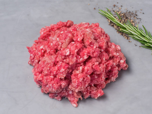 GROUND LAMB, Extremely versatile from the best cuts of our 100% Heritage breeds — Three 1lb packs