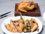 WHOLE GUINEA FOWL, Two 2-3lb birds raised by Frank Reese from Good Shepherd Poultry Ranch