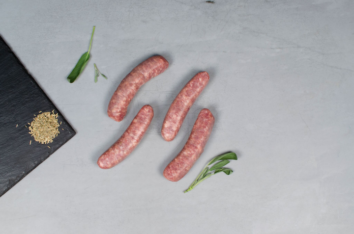 HERITAGE FENNEL SAUSAGE, 12 links, 3lb total — Our Heritage Breed Pork Cured in Kansas City, MO