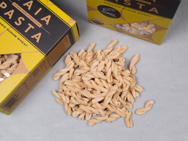 BAIA PASTA, From Oakland, CA — Organic from American-grown ingredients
