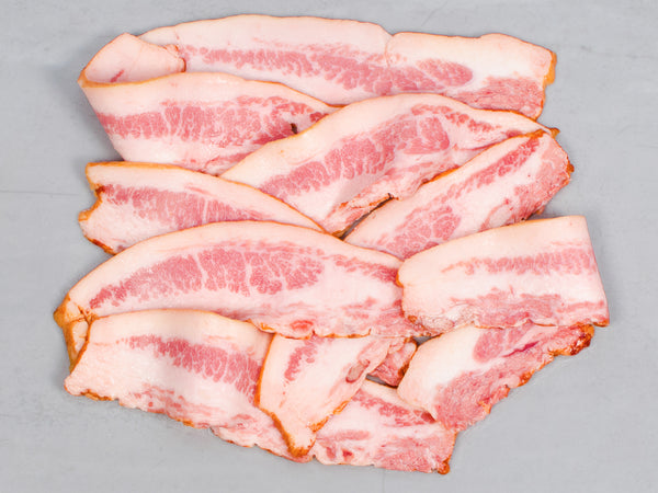 SIGNATURE HERITAGE JOWL BACON, Maple Sugar Cured — Berkshire — Three 1lb packs
