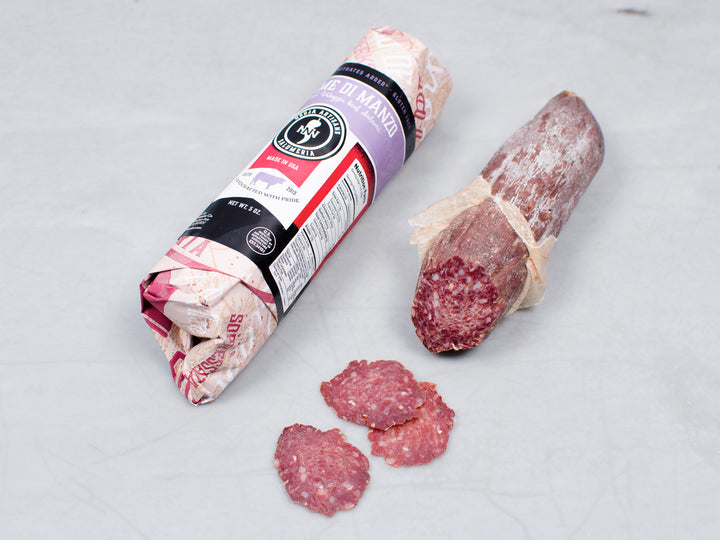Heritage Foods | Pasture Raised and Antibiotic Free | Wagyu Beef Salami