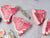 HERITAGE LAMB CHOPS AND PORK CHOPS, Two 10-12 oz Tunis Lamb Chops and two 14 oz Berkshire Pork Chops