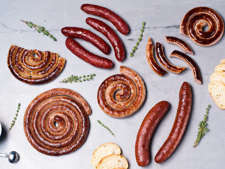 Heritage Foods | Pasture Raised and Antibiotic Free | Sausage Sampler